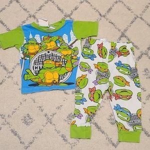 Ninja Turtle Pajama Set